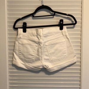 Frame Denim Shorts - Never worn white denim shorts